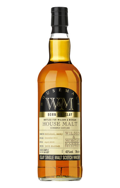 Wilson & Morgan House Malt Islay Whisky 5 Jahre