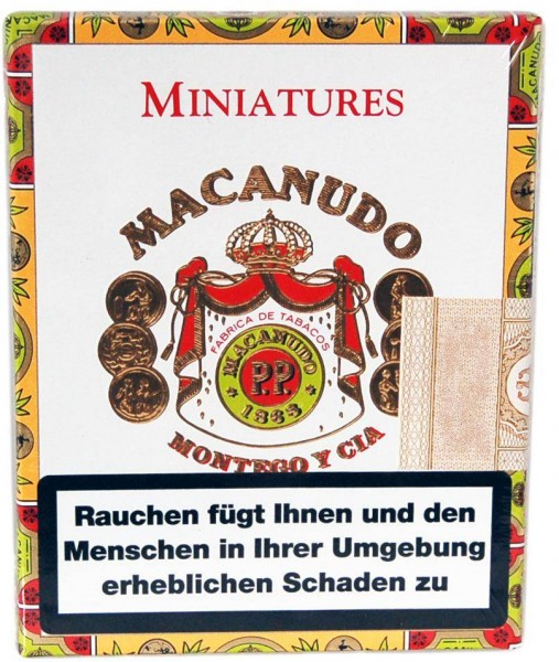 Macanudo  Cafe Miniatures (8er Packung)