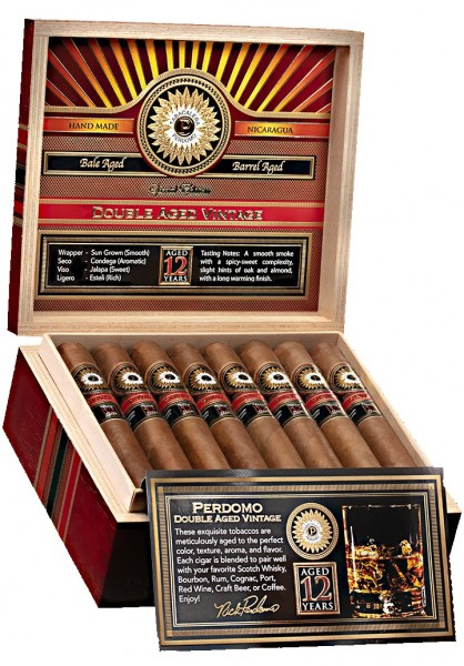 Perdomo Double Aged 12Y Vintage Sungrown Churchill