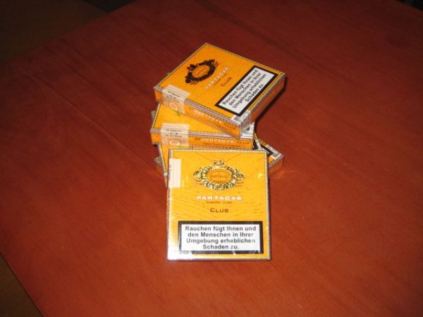 Partagas Zigarillos Club - 20er Packung