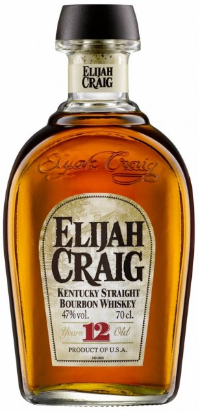 Elija Craig Elijah Craig 12 Years Old Straight Bourbon Whiskey